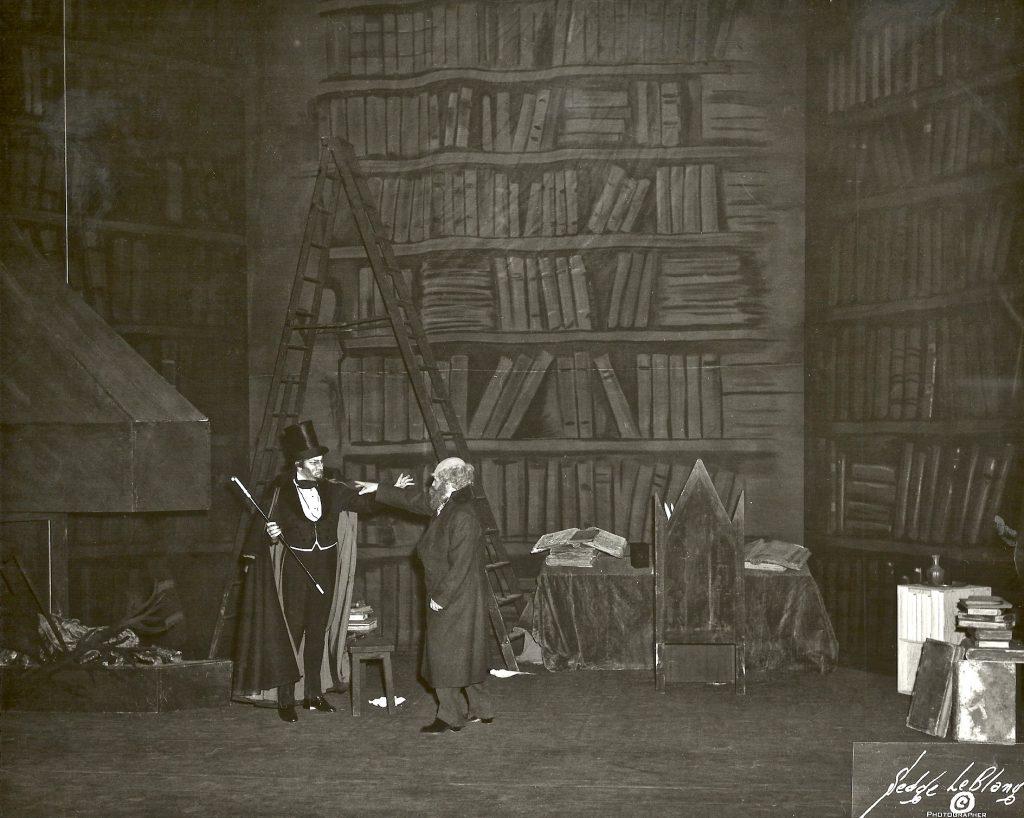 Faust Act I sc 1 w Jussi Bjorling Met x