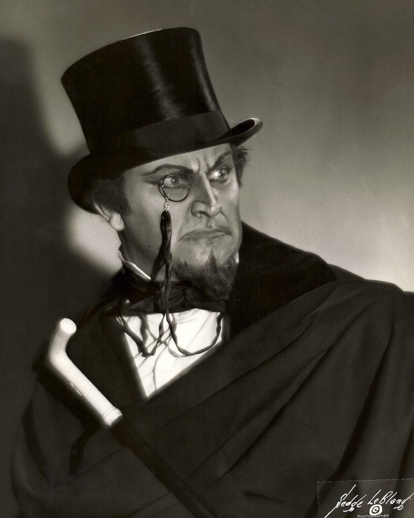Faust Mefistopheles Met top hat x