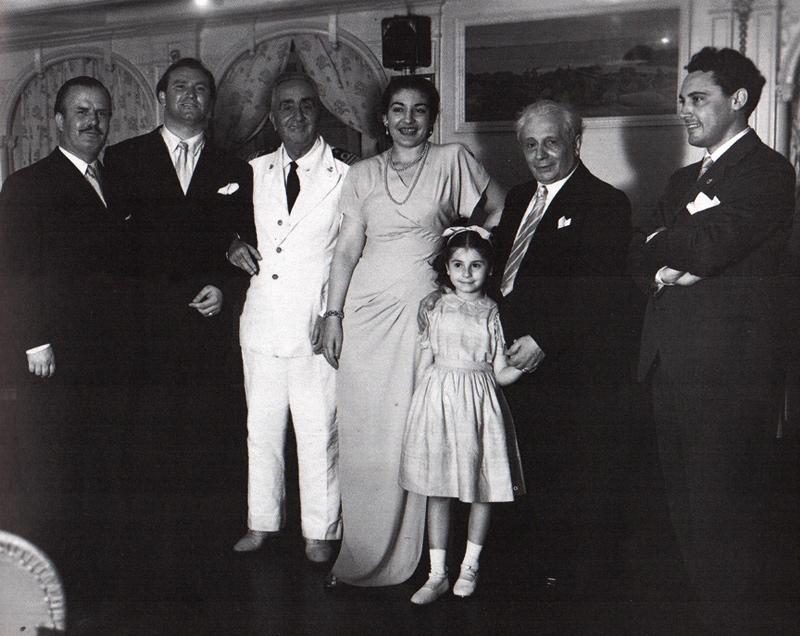 Shipboard-to-South-America-1949-Filippeschi-RL-Captain-Callas-unidentified-Serafin-Del-Monaco