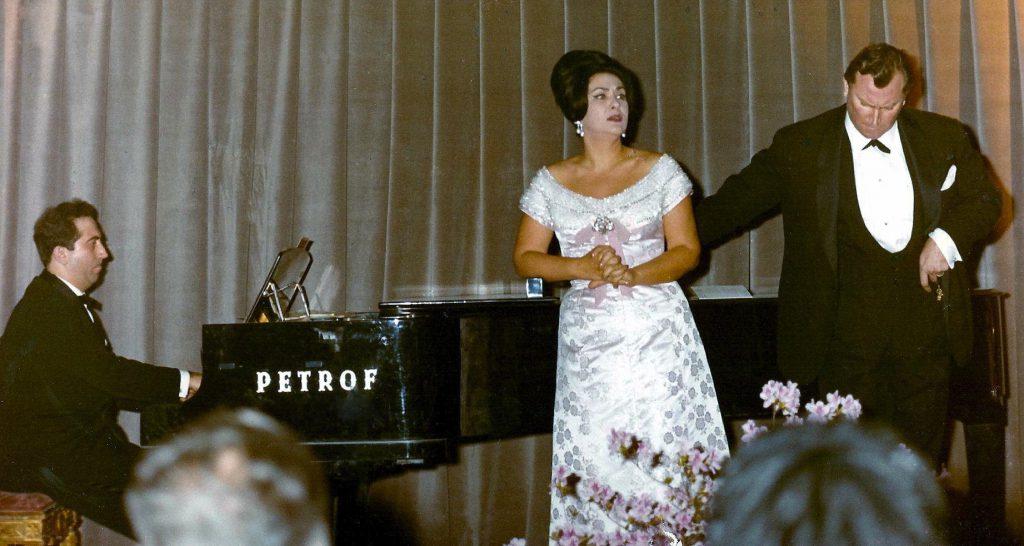 Zeani and Rossi Lemeni in recital x